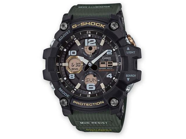 CASIO G-SHOCK GWG-100-1A3ER Watch Men, green/black/black
